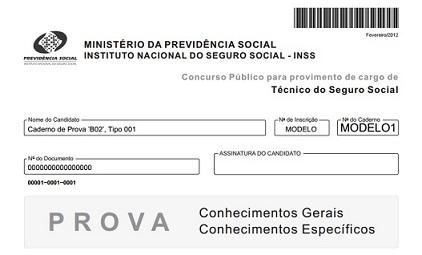 Concurso do INSS: Provas anteriores do cargo de Técnico do Seguro Social