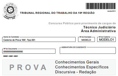 Concurso Técnico Judiciário TRT
