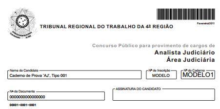 TRT-4ª Região: Provas Anteriores dos Concursos para Técnico e Analista Judiciário