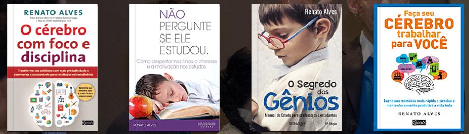 Curso de Memorização Renato Alves livros
