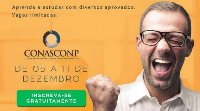 CONASCONP – 1º Congresso Nacional Online sobre Concursos Públicos