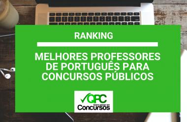 Português para Concurso: Ranking dos Melhores Professores 2019