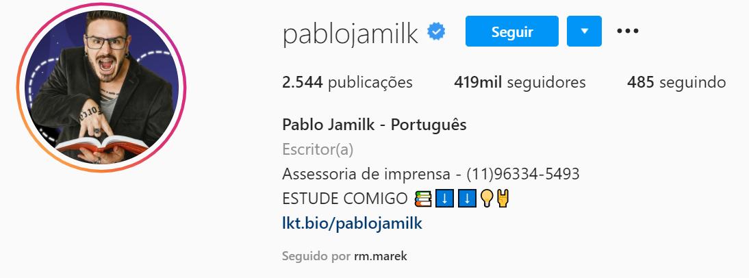 pablo jamilk instagram