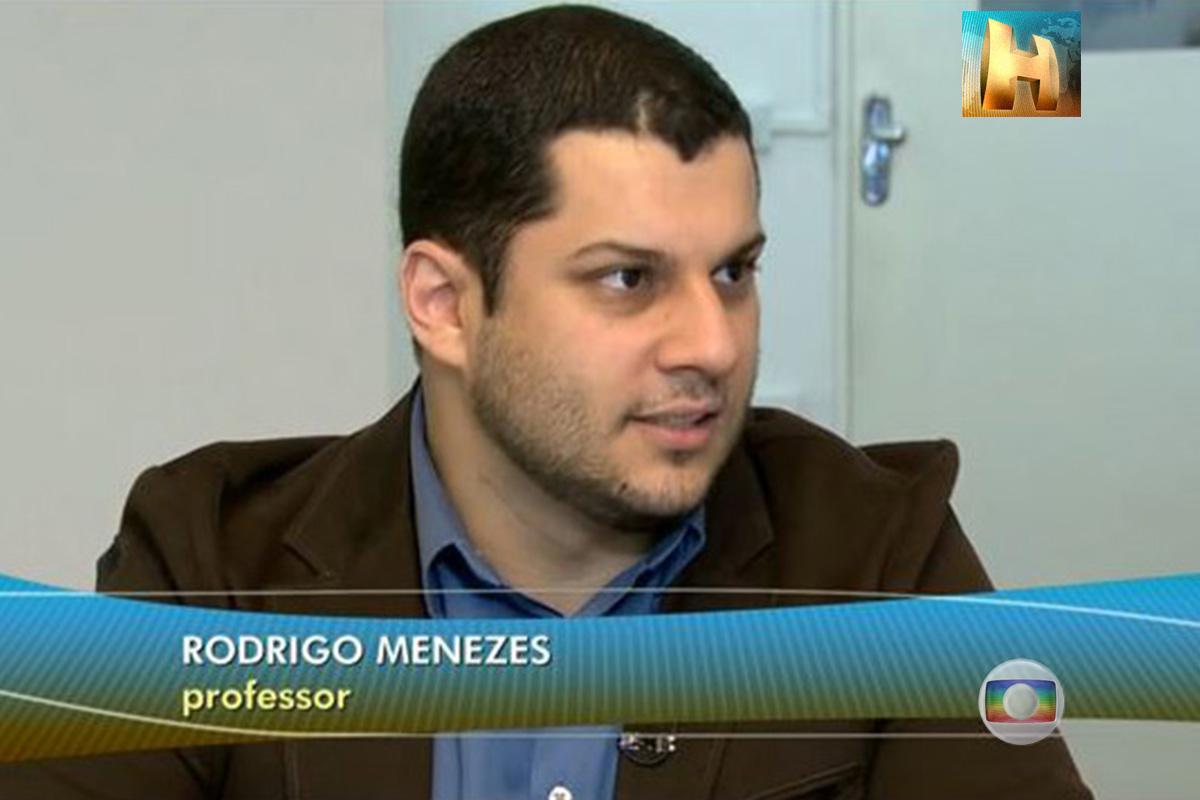 entrevista rodrigo menezes jornal da globo