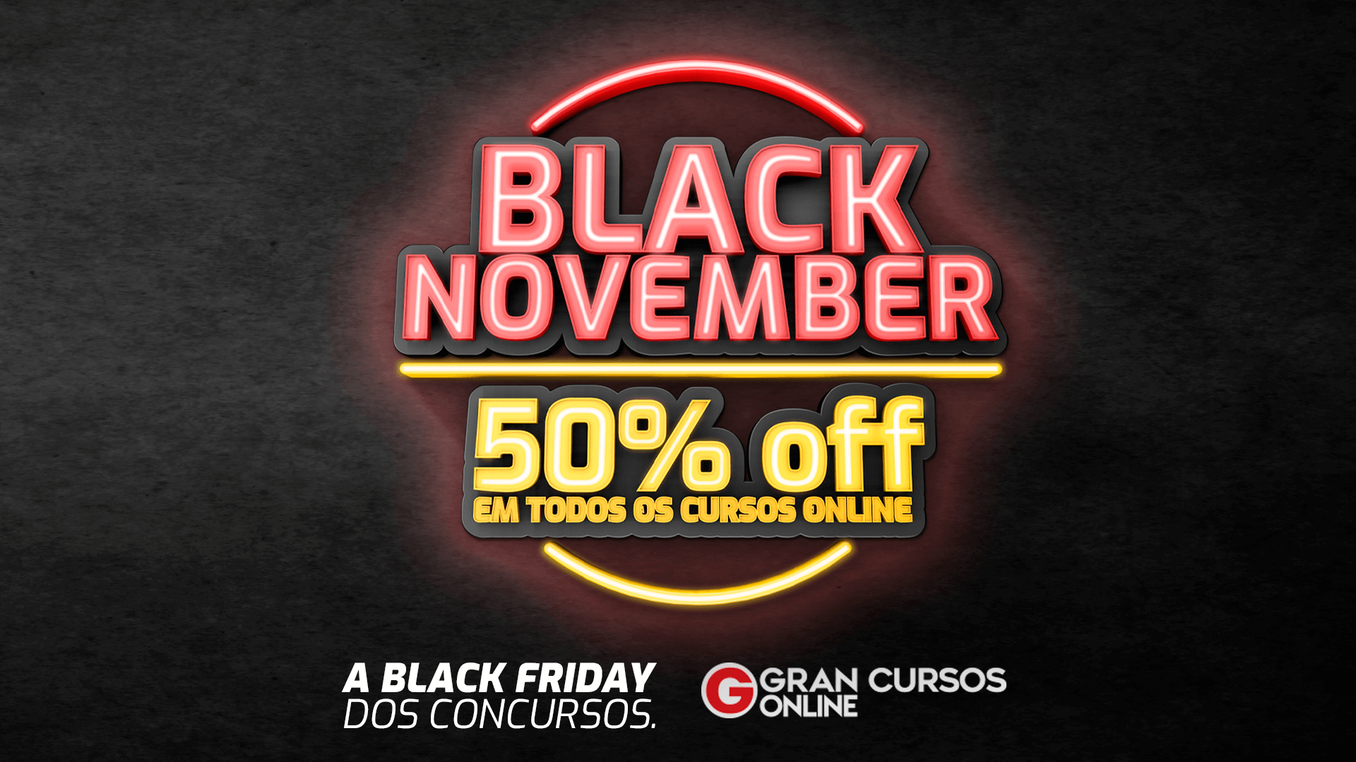 black friday gran cursos 2019