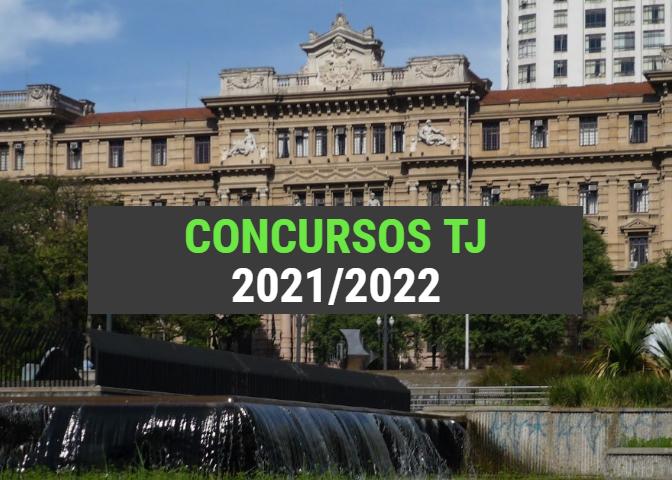 Concursos TJ Previstos para 2021/2022 (Lista Atualizada)