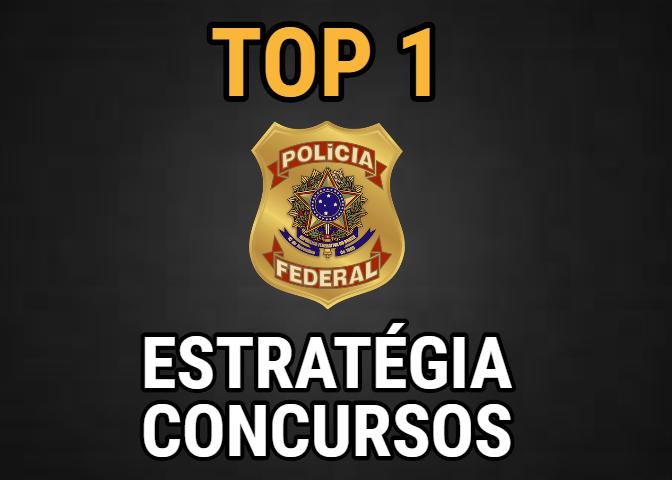melhores cursos online concurso polícia federal top 1