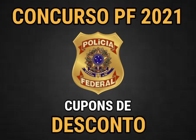 cupons de desconto concurso polícia federal