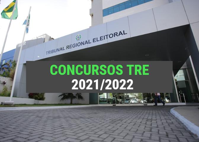Concursos TRE Previstos para 2021/2022 (Lista Atualizada)